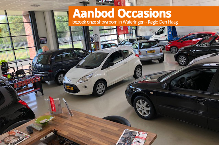 Autoverkoop - occasions - showroom Wateringen Westland